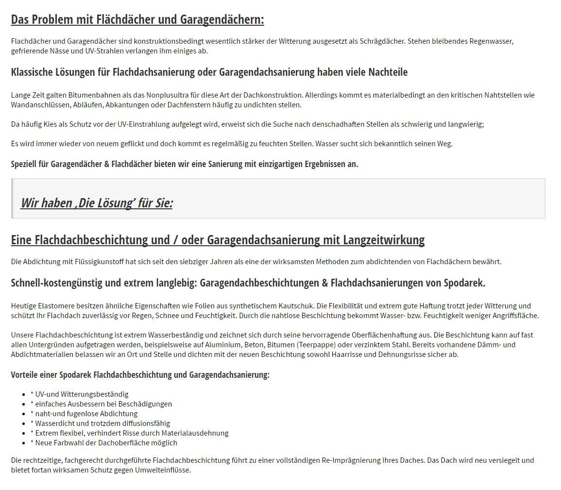 Flachdachsanierung  Karlsruhe
